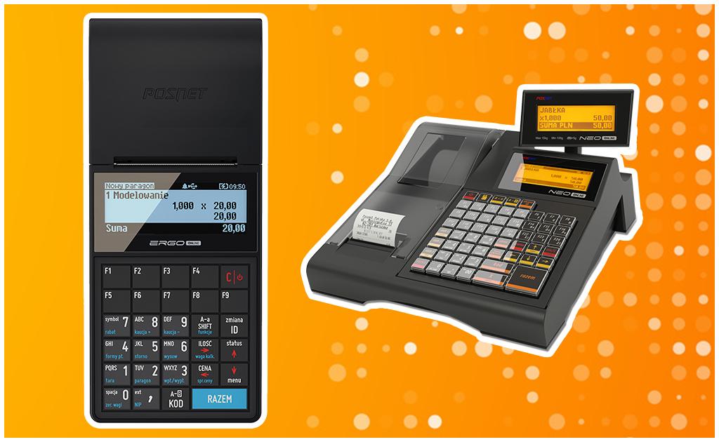 Posnet Ergo Online i Posnet Neo Online - kasy fiskalne z funkcją kaso-wagi